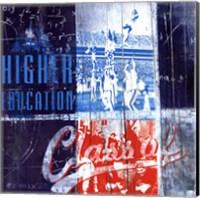 Higher Education - mini Fine Art Print
