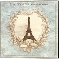 Tour de Eiffel - mini Fine Art Print