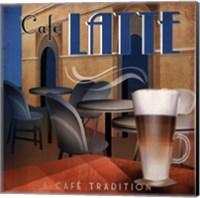Cafe Latte - mini Fine Art Print