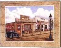 Barber Shop Fine Art Print