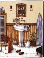 His Bathroom Fine Art Print
