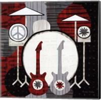 Rock n' Roll Drums Fine Art Print