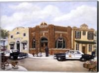 Police Station Fine Art Print