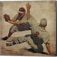 Vintage Sports VII Fine Art Print