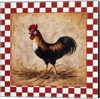 Country Rooster Fine Art Print