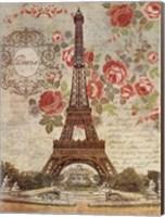 Dreaming Of Paris Fine Art Print