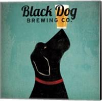Black Dog Brewing Co Square Fine Art Print