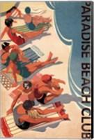 Paradise Beach Club Fine Art Print
