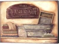Wash Room Fine Art Print