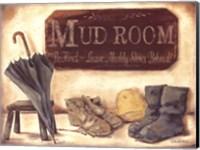 Muddy Shoes Fine Art Print
