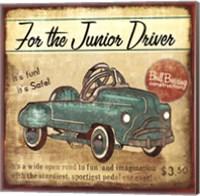 Junior Driver Fine Art Print