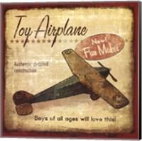 Toy Airplane Fine Art Print