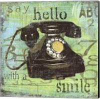 Hello With A Smile Fine Art Print
