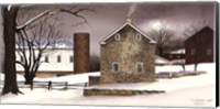 A Cold Winter's Night Fine Art Print