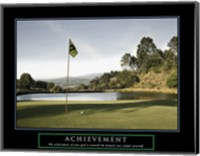 Achievement-Golf Commit Yourself Fine Art Print