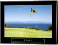 Goals-Golf Fine Art Print