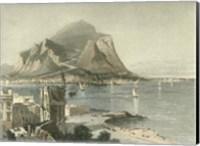 Monte Pellegrino, Palermo Fine Art Print