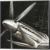 Aerial Navigation II Fine Art Print