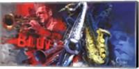 Uptown Blues Fine Art Print