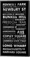 Boston Cities II Fine Art Print