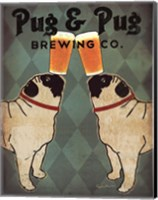 Pug and Pug Brewing Fine Art Print