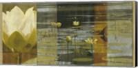 Lotus Panel I Fine Art Print