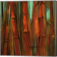 Sunset Bamboo II Fine Art Print