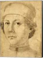 Portrait of a Young Man Fine Art Print