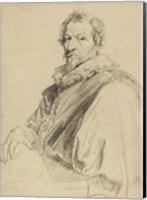 Portrait of Hendrick van Balen Fine Art Print