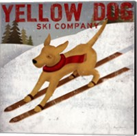 Yellow Dog Ski Co Fine Art Print