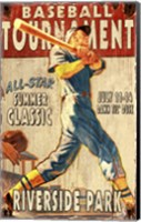 Baseball Tournament Fine Art Print