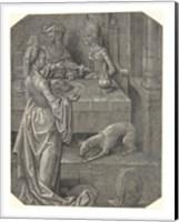 Salome with the Head of John the Baptist Fine Art Print