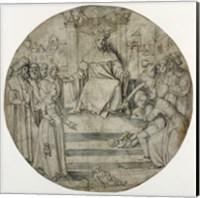 The Judgment of Solomon Fine Art Print