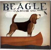 Beagle Canoe Co Fine Art Print