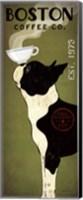 Boston Terrier Coffee Co Fine Art Print