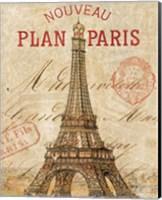 Letter from Paris Fine Art Print