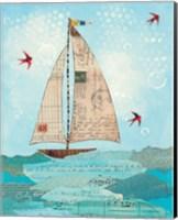 Coastal Notes I Fine Art Print