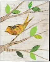 Birds in Spring II Fine Art Print