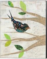 Birds in Spring III Fine Art Print