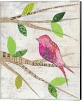 Birds in Spring IV Fine Art Print