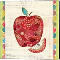 Fruit Collage I - Apple Fine Art Print