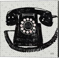 Vintage Analog Phone Fine Art Print