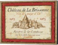 French Wine Labels I Fine Art Print
