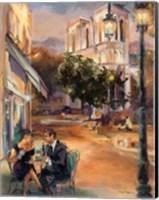 Twilight Time in Paris Fine Art Print