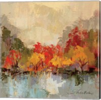 Fall Riverside II Fine Art Print
