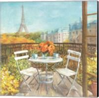 September in Paris Fine Art Print