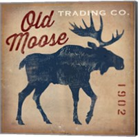 Old Moose Trading Co.Tan Fine Art Print