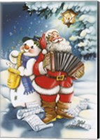 Christmas Carols Fine Art Print