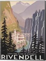 Visit Historic Rivendell Fine Art Print