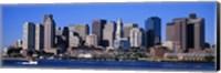Skyline, Cityscape, Boston, Massachusetts, USA, Fine Art Print